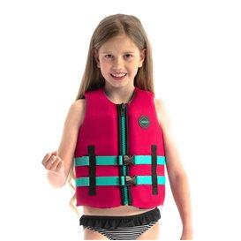 Jobe Neoprene Schwimmweste Kinder hot pink