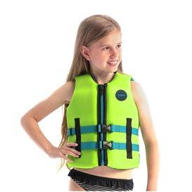 Jobe Neoprene Schwimmweste Kinder lime green