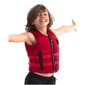 Jobe Neoprene Schwimmweste Kinder red