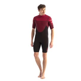 Jobe Perth Shorty 3/2mm Herren Neoprenanzug red