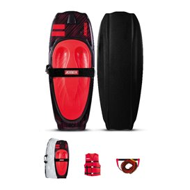 Jobe Streak Kneeboard Package Set red