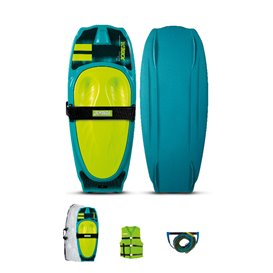 Jobe Streak Kneeboard Package Set vintage teal
