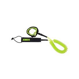 SUP Leash Coil 3m Sicherheitsleine lime hier im Jobe-Shop günstig online bestellen