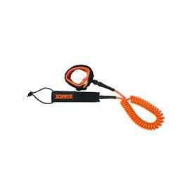 SUP Leash Coil 3m Sicherheitsleine orange hier im Jobe-Shop günstig online bestellen