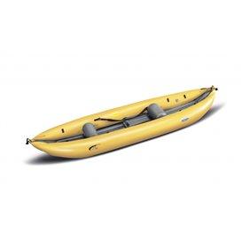 Gumotex K1 Wildwasser Kajak 1er Raft Luftboot Schlauchboot gelb hier im Gumotex-Shop günstig online bestellen