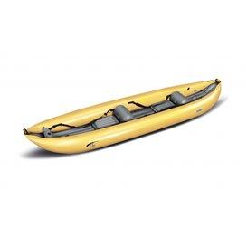 Gumotex K2 Wildwasser Kajak 1er Raft Luftboot Schlauchboot gelb