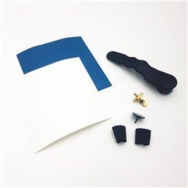 Red Paddle Reparaturset mit Flicken und Ventilschlüssel blau hier im Red Paddle-Shop günstig online bestellen