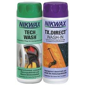 Nikwax Tech Wash & TX.Direct Doppelpack 300ml Reinigungsmittel und 300ml Imprägniermittel