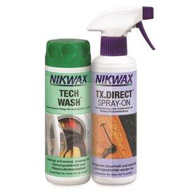 Nikwax Tech Wash & TX.Direct Spray 300ml Waschmittel und 300ml Imprägniermittel