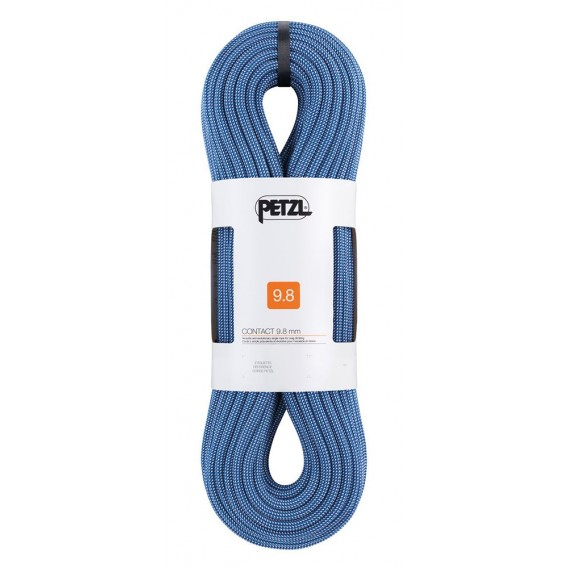 Petzl Contact 9,8mm Einfachseil 80m Kletterseil zum Sportklettern blau hier im Petzl-Shop günstig online bestellen