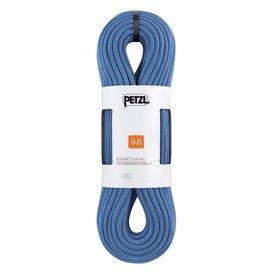 Petzl Contact 9,8mm Einfachseil 80m Kletterseil zum Sportklettern blau