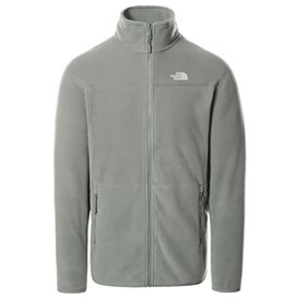 The North Face 100 Glacier Full Zip Herren Fleecejacke agave green
