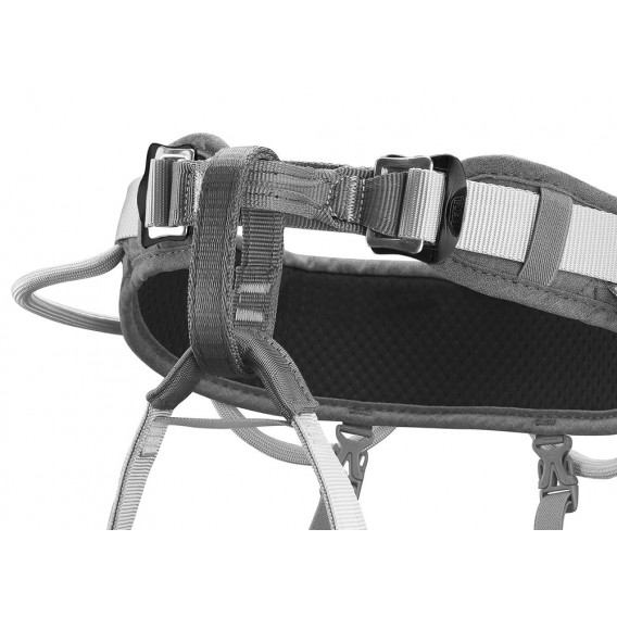 Petzl Corax Klettergurt zum Sportklettern und Bergsteigen grau 2 hier im Petzl-Shop günstig online bestellen