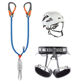 Petzl Kit Via Ferrata Eashock 2 Klettersteigset Komplettset hier im Petzl-Shop günstig online bestellen