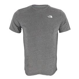 The North Face Foundation Left Chest Logo Tee Herren T-Shirt grey heather