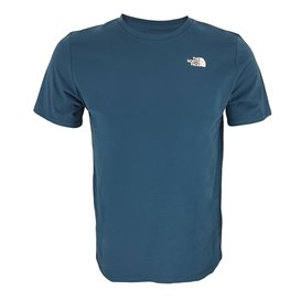 The North Face Foundation Left Chest Logo Tee Herren T-Shirt monterey blue