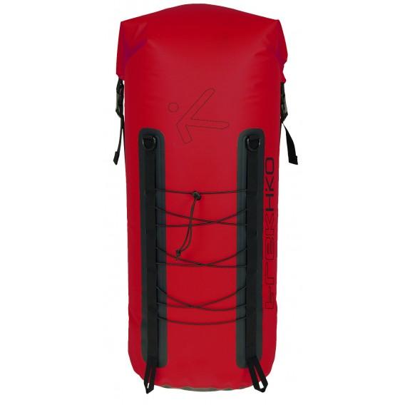 Hiko Trek Backpack wasserdichter Rucksack Packsack rot