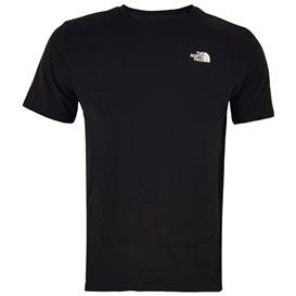 The North Face Foundation Left Chest Logo Tee Herren T-Shirt tnf black