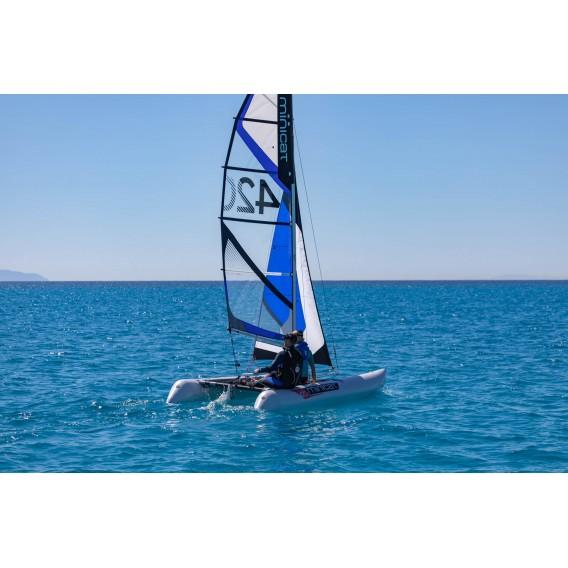 MiniCat 420 Emotion aufblasbarer Katamaran Segelboot hier im MINICAT-Shop günstig online bestellen