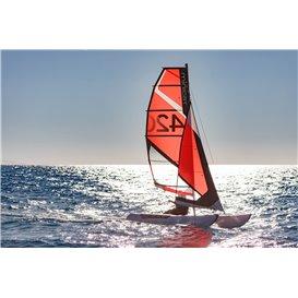 MiniCat 420 Instinct aufblasbarer Katamaran Segelboot