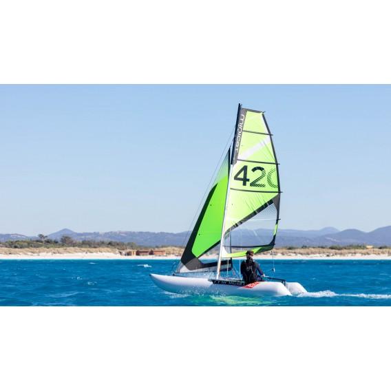MiniCat 420 Instinct aufblasbarer Katamaran Segelboot hier im MINICAT-Shop günstig online bestellen