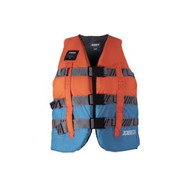 Jobe Rental Life Vest Nylon Wassersport Schwimmweste orange-blau