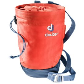 Deuter Gravity Chalk Bag II L Kletterzubehör papaya-navy