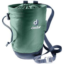 Deuter Gravity Chalk Bag II L Kletterzubehör seagreen-navy