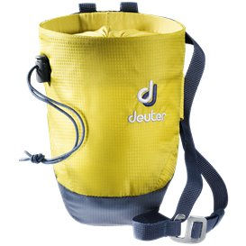 Deuter Gravity Chalk Bag II M Kletterzubehör greencurry-navy
