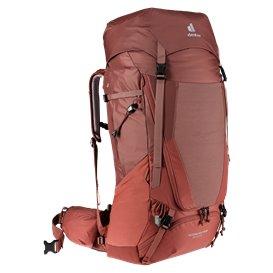 Deuter Futura Air Trek 55 + 10 SL Damen Trekkingrucksack redwood-lava hier im Deuter-Shop günstig online bestellen