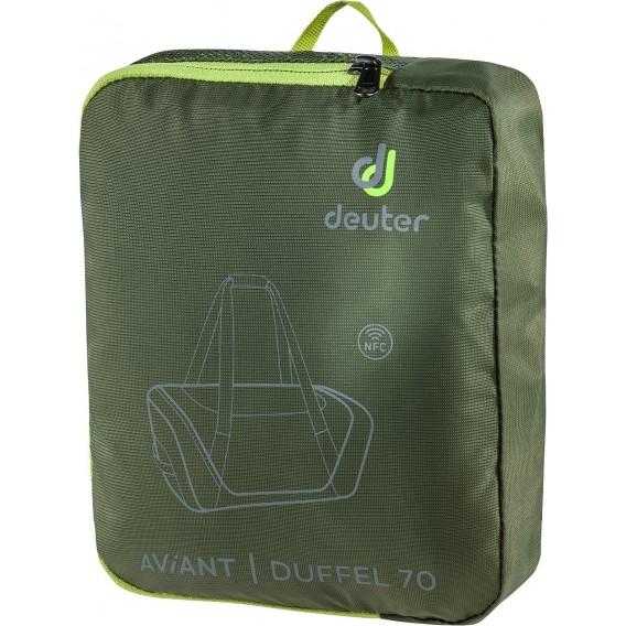 Deuter AViANT Duffel 70 Reisetasche khaki-ivy hier im Deuter-Shop günstig online bestellen