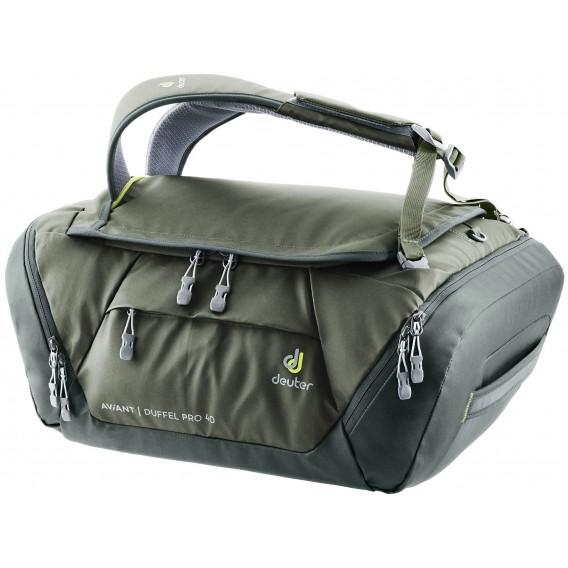 Deuter AViANT Duffel Pro 40 Reisetasche khaki-ivy hier im Deuter-Shop günstig online bestellen
