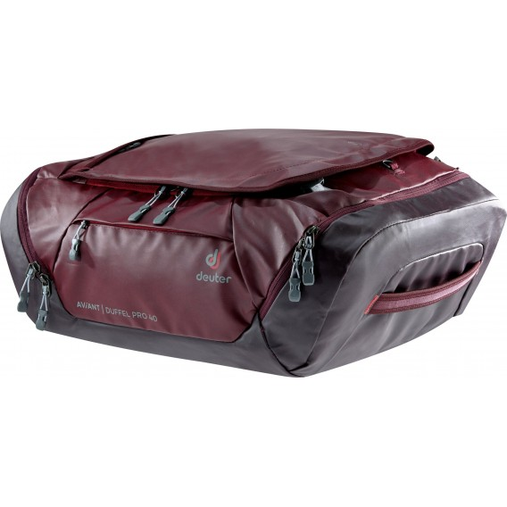 Deuter Aviant Duffel Pro 40 Reisetasche maron-aubergine hier im Deuter-Shop günstig online bestellen