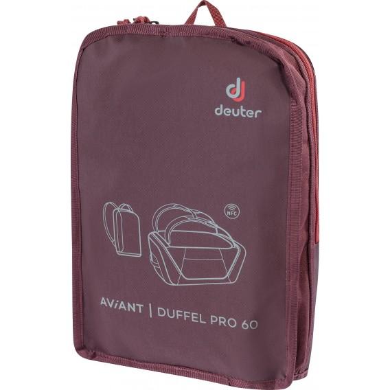 Deuter AViANT Duffel Pro 60 Reisetasche maron-aubergine hier im Deuter-Shop günstig online bestellen
