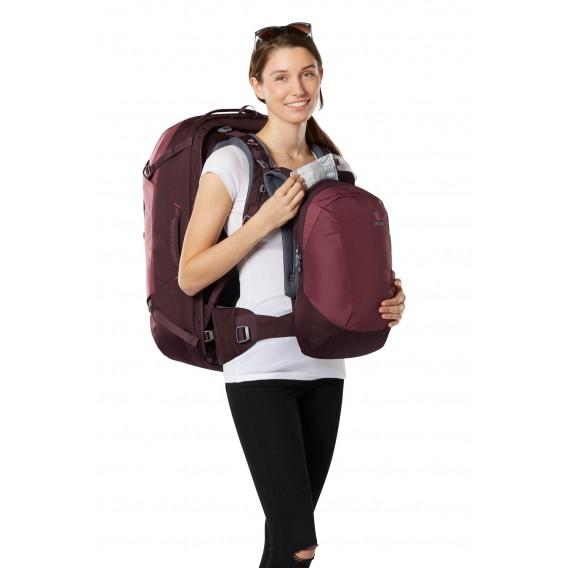 Deuter AViANT Access Pro 55 SL Damen Reiserucksack Daypack maron-aubergine