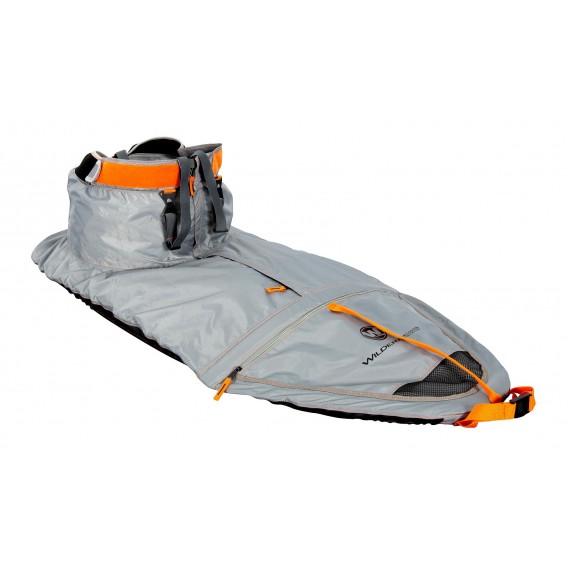Wilderness Systems True Fit Spray Skirt W12 Spritzdecke Spritzschutz Nylon grau-orange hier im Wilderness Systems-Shop günstig o