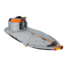 Wilderness Systems True Fit Spray Skirt W12 Spritzdecke Spritzschutz Nylon grau-orange