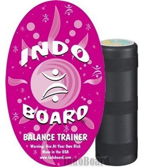 Indoboard Original Pink Balancetrainer inkl. Rolle und DVD hier im Indo Board-Shop günstig online bestellen