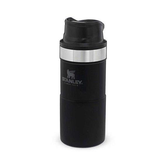 Stanley Classic Trigger Action Travel Mug 0,354l Thermobecher Trinkbecher schwarz