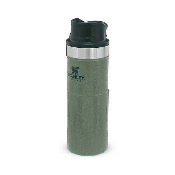 Stanley Classic Trigger Action Travel Mug 0,473l Thermobecher Trinkbecher grün