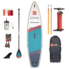 Red Paddle Sport 11 MSL SUP komplett Set aufblasbares Stand up Paddle Board