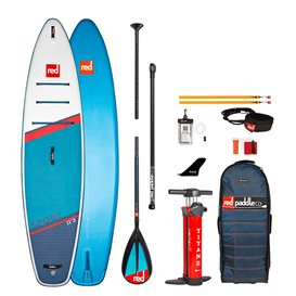 Red Paddle Sport 11'3 MSL SUP komplett Set aufblasbares Stand up Paddle Board