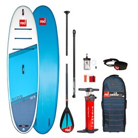Red Paddle Ride 10'6 MSL SUP komplett Set aufblasbares Stand up Paddle Board