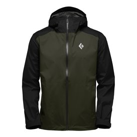 Black Diamond Stormline Stretch Rain Shell Herren Regenjacke cypress-black hier im Black Diamond-Shop günstig online bestellen