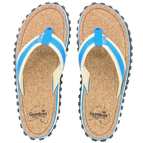 Gumbies Corker Zehentrenner Badelatschen blue hier im Gumbies-Shop günstig online bestellen