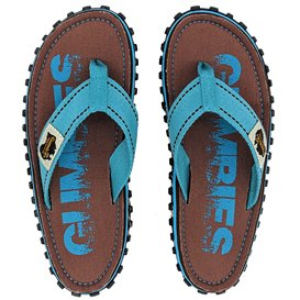 Gumbies Original Zehentrenner Badelatschen brown eroded