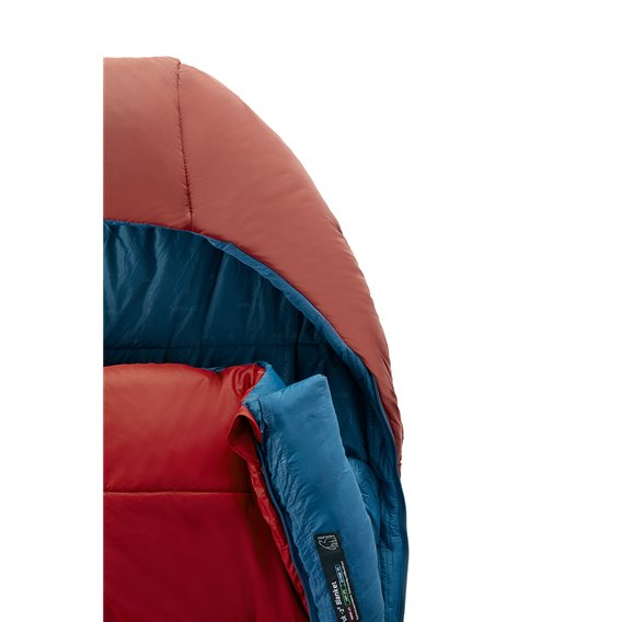 Nordisk Puk -2 Blanket Kunstfaser Deckenschlafsack 3-Jahreszeiten rot hier im Nordisk-Shop günstig online bestellen