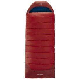 Nordisk Puk -2 Blanket Kunstfaser Deckenschlafsack 3-Jahreszeiten rot