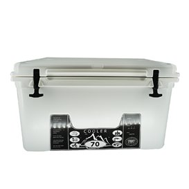 ExtaSea Profi Cooler Kühlbox 70 Liter für Camping, Angeln, Wohnmobil, Festivals