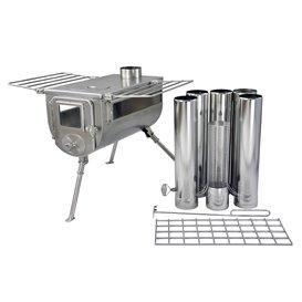 Winnerwell Woodlander Double View Gr. L Campingküche Outdoor Ofen hier im Winnerwell-Shop günstig online bestellen